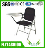 High Quality Leather PU Training Chair with Wirting Pad Sf-33f