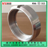 DIN11850 Stainless Steel AISI304 AISI316L Sanitary Round Nut