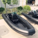 All Black CE Boat, 5.8m Rib Boat, Rib Inflatable Boat Rib580b