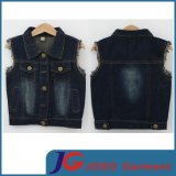 100% Cotton Little Boy's Jean Vest (JT8013)
