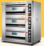 Industrial Gas Oven with 3 Decks 6 Trays (ALB-Q3B)