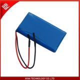 Rechargeable 3.7V/2.5ah Li-Po Battery Pack with PCM 2A