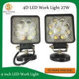 Auto 4D LED Work Lamp 27W 4 Inch for Tractors