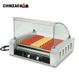 30 Hotdogs Chinese Commercial Hot Dog Roller Grill with Ce