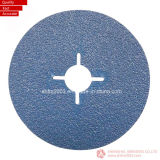 125*22mm P60, Zirconia & Aluminum Oxide Sanding Disc for Metal