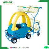Metal Plastic Kids Shopping Trolley Cart