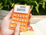 Solar Powered Foldable Silicone Dual Power System Calculator