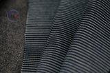 Vertical Stripes Stretch Denim Fabric