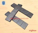 63HRC High Chromium White Iron Wafer Strips / Chocky Bars
