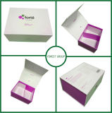 Purple Magnetic Closure Folding Gift Box