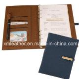 Leather Bound Hardbound Executive Notebook Blue Color
