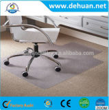 Sit or Stand PVC/PE Chair Mat for Carpet or Hard Floors