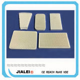 Custom Made Cordierite Infrared Ceramic Honeycomb Plate and Catalytic Gas Heating Panel Plague
