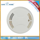 Battery Operated Smoke Detector Alarm with High Sensitivity