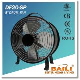"""High quality 8"""" Drum Fan with 100% Copper Motor"""