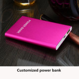 Customized Logo 2600mAh External Battery Ultra Thin Pack Power Backup Battery for Smartphone Universal Powerbank