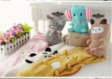 Hot Sales Cute Cartoon Animal Plush Blanket Coral Fleece Baby Blanket Ca-01871A