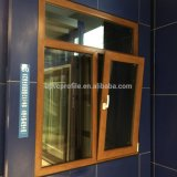 High Quality Wooden Color Tilt and Turn UPVC Windows