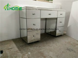 Modern Venetian Mirrored Furniture Mirrored Dresser with 7 Drawers