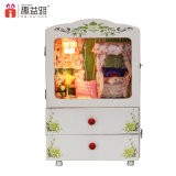 Hot Sale DIY Wooden Toy Music Box Doll House