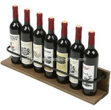 Wall Mounted Wood Wine Display Rack for Home