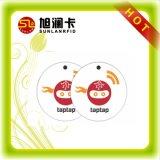 Custom Size Plastic PVC Smart NFC Epoxy Tag for 2017 Promotion