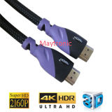 High Speed Support 4k/3D Male to Male HDMI Cable