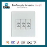 Silk Screen Printing Touch Switch Glass Panel for Home Supplies