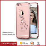 Hot Sale Luxuriou Set Auger Cell Phone Cover TPU Case