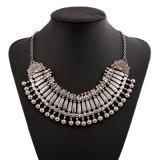 Fashion Metal Alloy Tassel Alloy Statement Choker Necklace Jewelry