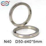 N40 Perfect Powerful Permanent Neodymium NdFeB Ring Magnet for Generator