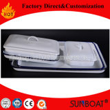 Sunboat Enamel Baking Tray Table Rectangular Plate Butter/Medical Tray