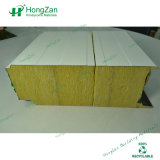 200mm Thickness Fireproof Rock Wool Sandwich Panel for Wall, Partition