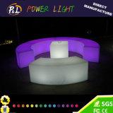 PE LED Light Snake Stool Furniture for Bar