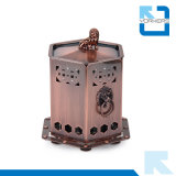 Bronze Stainless Steel Mini Portable Camping Gas Stove Alcohol Camp Stove