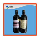 Plastic Adhesive Label with Safety Features Paper