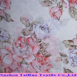 Poly Printed Chiffon Fabric for Ladies Dress