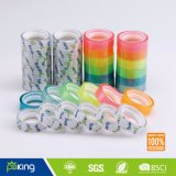 Super Crystal Clear BOPP Stationery Tape with Strong Stickness