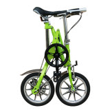 Colorful Single Speed Carbon Steel Folding Bike