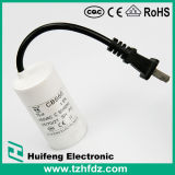 Electronic Component Cbb60 Motor Run Capacitor with Cable
