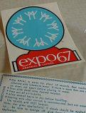 Customized Sticker, Vinyl Label (hx2014006)