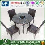 Rattan Chair Furniture Rattan Hot Pot Dining Table Set (TG-1332)