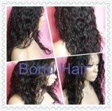 Hot Sale Virgin Remy Peruvian Hair Wavy Full Lace Wigs