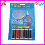 Household Sewing Set with Thread and Other Sewing Tools