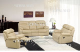 Modern Comfortable Leather Sofa (841#)