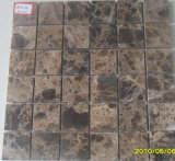 Natural Stone Brown Dark Emperador Mosaic Tile