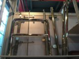 Frameless Deck Railing Glass Baluster for Ss Handrail Fittings
