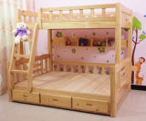 Solid Wood Bunk Bed Simple Bunk Bed Kids Bed (M-X1033)