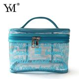 Hot Sale Wholesale Promotional Travel Clear Transparent Cosmetic Toiletry Makeup Bag