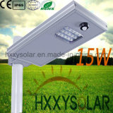 15W Solar LED Street Light with Factory Price